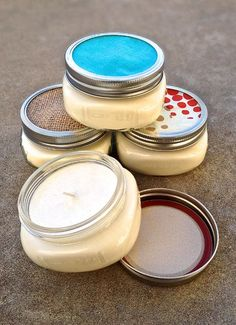 DECORATION / BEAUTE : Idée à étudier : Homemade Soy Candles and Glycerin Soap via @mybakingaddiction