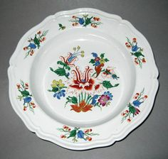 Ceramics - Plate or bowl (Soup plate or bowl) - Search the Collection - Winterthur Museum