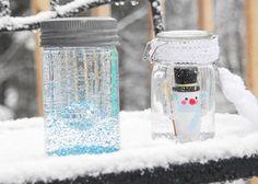 Schneekugel selbst basteln | DIY LOVE