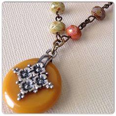 Gipsy necklace on Etsy, $35.00
