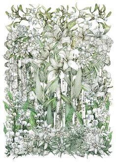 Lucky Charm - White | Print Club London