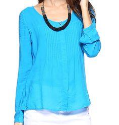 Camisa pregas - LeLisBlanc Encontrar tecido ideal.