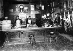 Johnson Brothers Meat Market, Hopkins, MN, 1896
