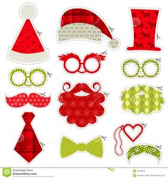 Christmas Photobooth Party Set - Download From Over 28 Million High Quality Stock Photos, Images, Vectors. Sign up for FREE today. Image: 35100140