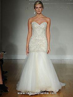 1. Brautkleid Meerjungfrau  Alle Brautkleid http://de.lady-vishenka.com/fishtail-wedding-dress-2016/