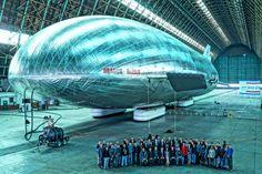 O revolucionário dirigível Aeroscraft torna-se realidade | #AcidenteDeAvião, #Aeronave, #Aeroscraft, #Dirigível, #Jmj