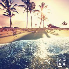 Praia maravilhosa do Caribe! E aí, preparado para conhecer as ilhas mais lindas do mundo? #ClubePeloMundo #ClubeTurismo #AmoViajar #Viagens