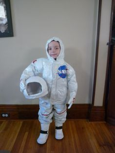 DIY child's costume- $13 Astronaut