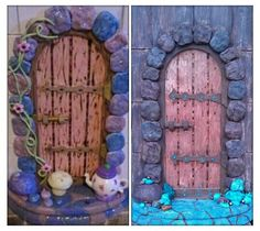 1000 images about look what i can do stuff i 39 ve made on for Unfinished fairy door