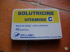 On en prenait juste parce que c'était bon! - Solutricine vitamine C - enfance