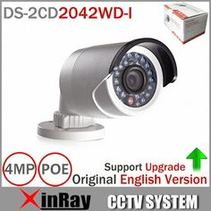 Original DS-2CD2042WD-I Full HD 4MP High Resoultion 120db WDR POE IR IP Bullet Network CCTV Camera English Version (32469654055)  SEE MORE  #SuperDeals