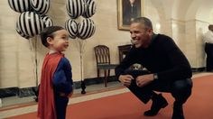 President Obama Welcomes Costumed Children as They Trick or Treat at the White House