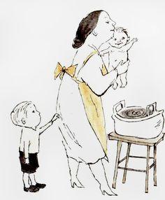 """Very Far Away"" illustrated by Maurice Sendak."