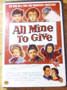 #Sold!!  All Mine to #Give DVD NWOT Brand New Vintage #Christmas #Family Movie