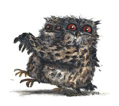 'Tangowl the Time' by Eva Poppink