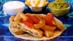 Chicken Fajitas, the start of a 3-in-1 meal by Catherine McCord (we <3 her!) Total Cost: $5.69