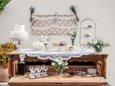 #Dessertbar Santorini wedding. View the full gallery here: http://tietheknotsantorini.com/portfolio