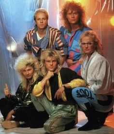 Finnish band Bogart & Co - The Most 80s Band Of The 80s