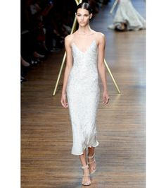 #jasonwu - beaded silk-crepe dress
