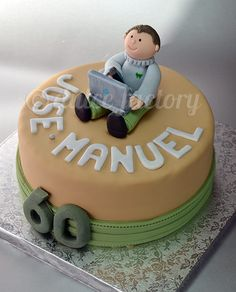 60th Birthday Mini Cake