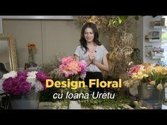 Cursul de Design Floral Live Online cu Ioana Uretu - YouTube