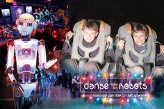 Allez voir mes photos de Danse avec les Robots at Futuroscope!