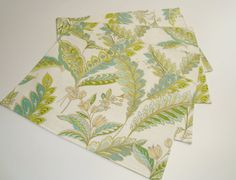 Placemats Striped And Floral Reversible Set of 4 Dassy D by DassyD, $24.00
