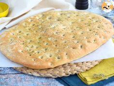 Focaccia, le pain italien au romarin, photo 1