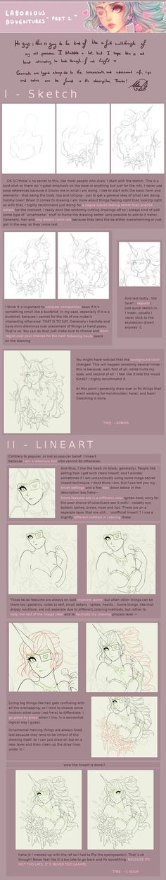 Drawing walkthough [PART 1] by agent-lapin on DeviantArt