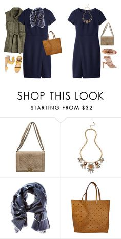 """""""Untitled #19771"""" by hanger731x ❤ liked on Polyvore featuring Chanel, Blu Bijoux, Banana Republic and Madewell"""