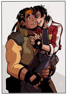 Voltron - Hunk x Keith - Heith Voltron Klance, Voltron Memes, Voltron Fanart, Voltron Ships, Voltron Comics, Space Cat, The Last Airbender, Cute Art, Lions