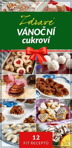 Christmas Candy, Christmas Baking, Christmas Cookies, Czech Recipes, Muesli, Recipe Box, Ham, Food And Drink, Healthy Eating