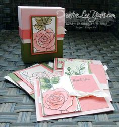 6 ways to watercolor class by wendy lee, #creativeleeyours, Stampin' Up!, Rose Wonder stamp set