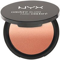 Nyx Cosmetics - Ombre Blush in Nude to Me. Very Peachy blush. Was slightly disappointed that my blush only had a little ombre when purchased from #ultabeauty it was mostly peach, but still a love.