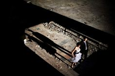 #wedding #photography #colour #bride #groom #ruins #light
