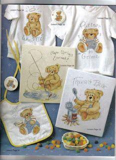 Ateliê Lucia Cabete: Lindos ursinhos para pintar.