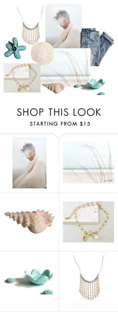 """Winter walk on the beach"" by crsevier ❤ liked on Polyvore featuring Anthropologie and J.Crew"