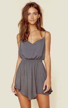 COWL NECK SILK COCKTAIL DRESS | @ShopPlanetBlue