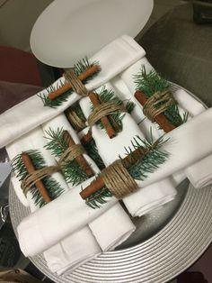 Napkins for Christmas Dinner Napkin Rings, Napkins, Dinner, Christmas, Home Decor, Dining, Xmas, Decoration Home, Room Decor