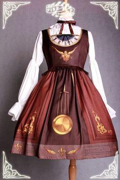 PINK-UP Eternal Pendulum 永恒的钟摆 JSK 连衣裙