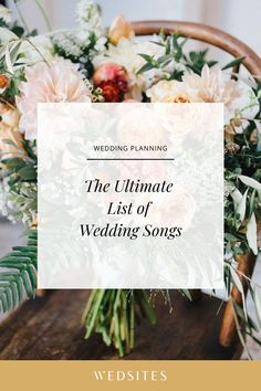 The Ultimate List of Wedding Songs on Spotify