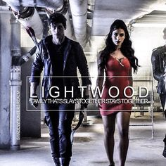 Alec & Izzy Lightwood ~ Shadowhunters