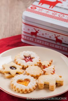 Our favorite recipe for terrace cookies and rascals, from my Ur … - DIY Christmas Cookies Butter Cookies Recipe, Christmas Cookies, Cookie Recipes, Food And Drink, Yummy Food, Favorite Recipes, Sweets, Baking, Breakfast