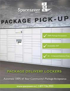 Automate 100% of your community's package acceptance with package delivery lockers. See how!