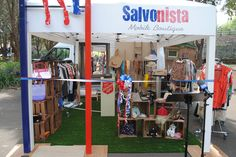 The Salvonista Mobile Boutique is ready to go!!