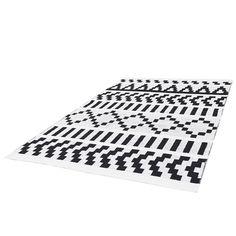 Pikseli carpet, black-white, by Forme.