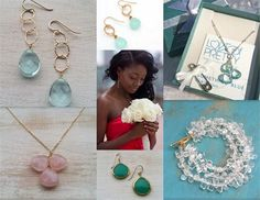 Pretty jewelry ideas for bride or maids??