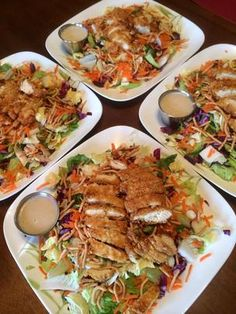 TSR Version of Applebee's Oriental Chicken Salad by Todd Wilbur. Photo by SonnyHavens