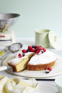 Vegan Vanilla Cake   A light, moist sponge with the flavour of vanilla shinning through.