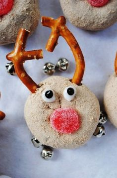 Rudolph the red nosed reindeer mini donuts by greenmntminibaked reindeer donuts for 2015 christmas mini reindeer donuts for christmas reindeer food for 2015 christmas fantastic 2015 christmas reindeer dessert forumfinder Choice Image